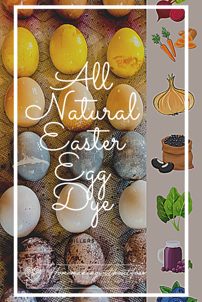 All natural Easter egg dye allows you to be creative and use, food based ingredients to create a NATURALLY  unique, beautiful and NON-TOXIC Easter basket. I show you how to easily prepare pantry ingredients and whole foods to create stunning color. So fun and easy even your kids can help!