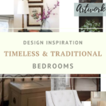 Timeless Traditional Decor combines American Traditional with Classic Formal style and a touch of Rustic. PERFECT for cozy, intimate bedrooms!